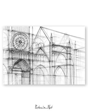 Architectural Drawings 5 poster