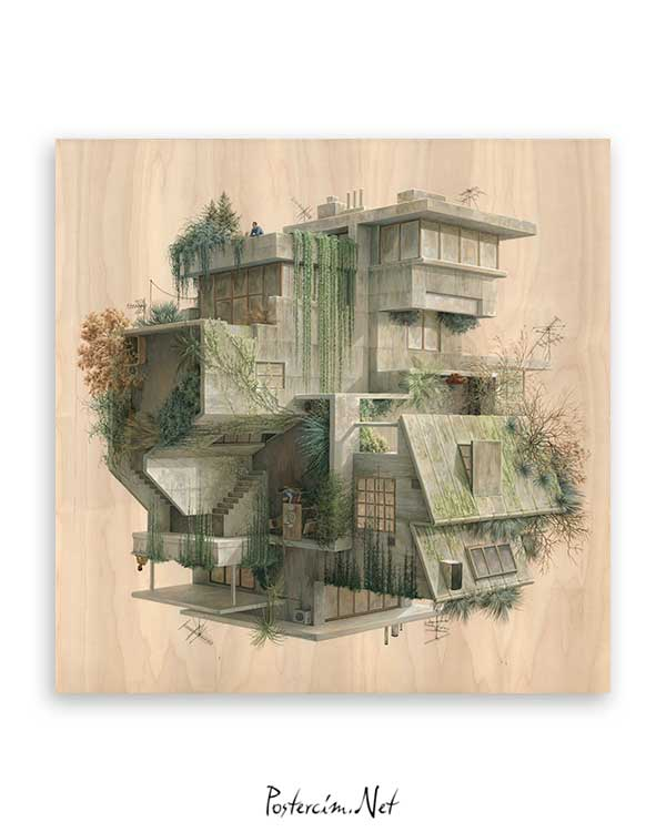 Architectural Drawings 7 poster