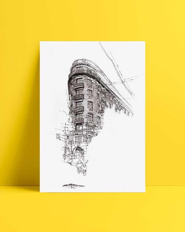 Architectural Drawings 8 afiş