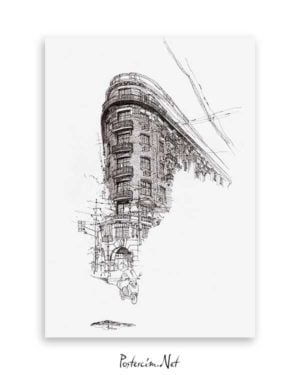 Architectural Drawings 8 poster