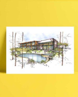Architectural Drawings 1 afiş
