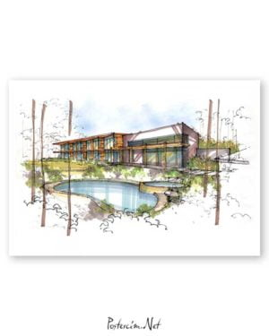 Architectural Drawings 1 poster