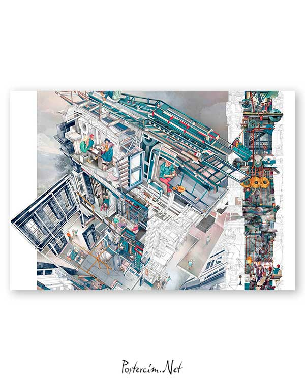 Architectural Drawings 4 poster