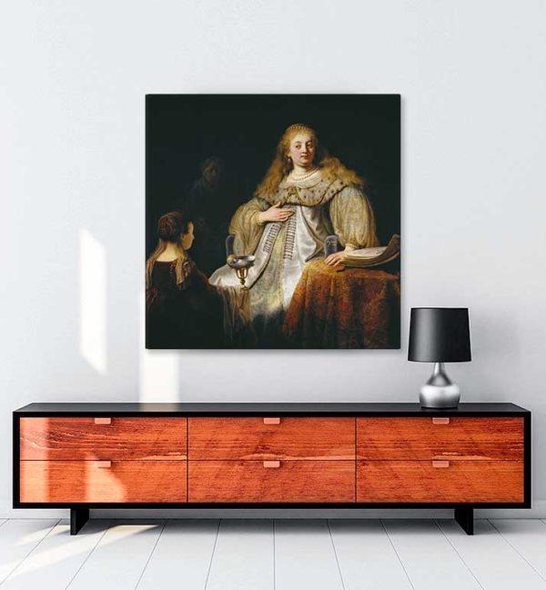 Artemisia kanvas tablo