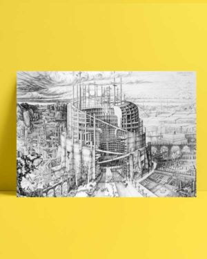Babil Art mimari afiş