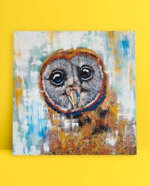Baykuş Portresi afiş
