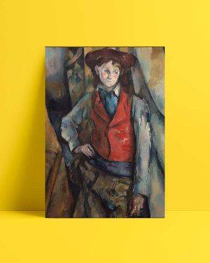 Boy in Red Vest afiş
