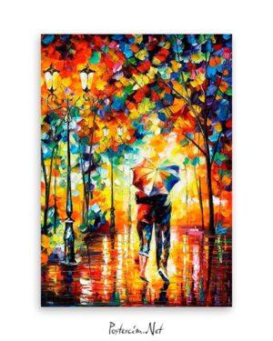 Couple Under One Umbrella poster