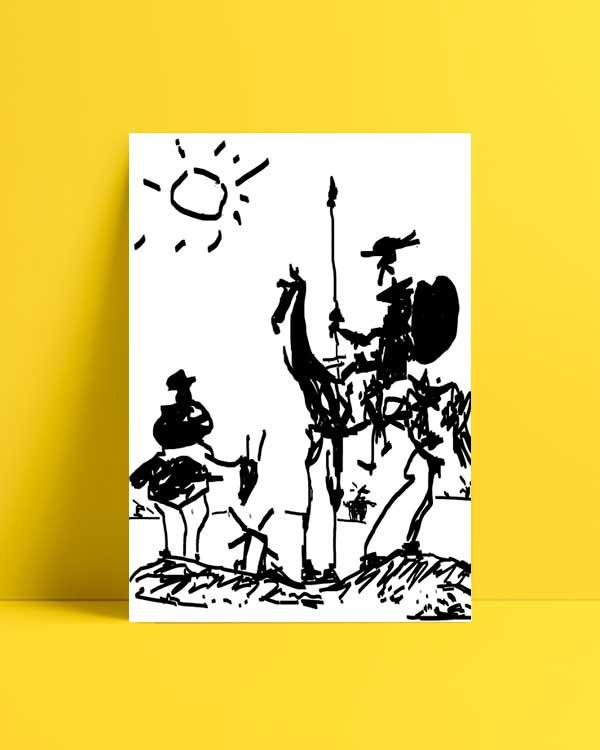 Don Quixote afiş