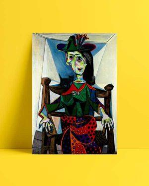 Dora Maar au Chat afiş