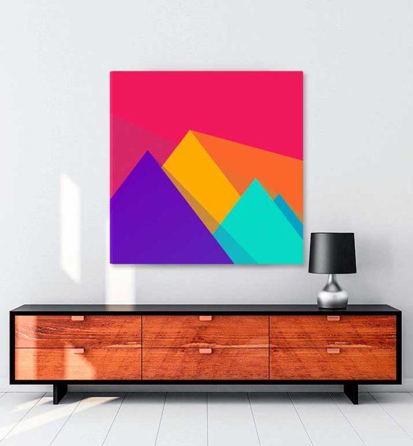 Geometry kanvas tablo
