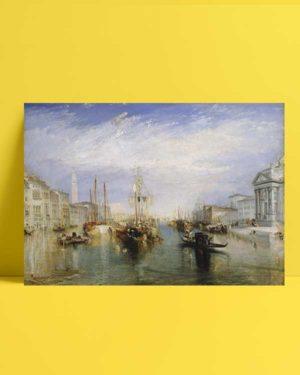 Grand Canal Venice afiş