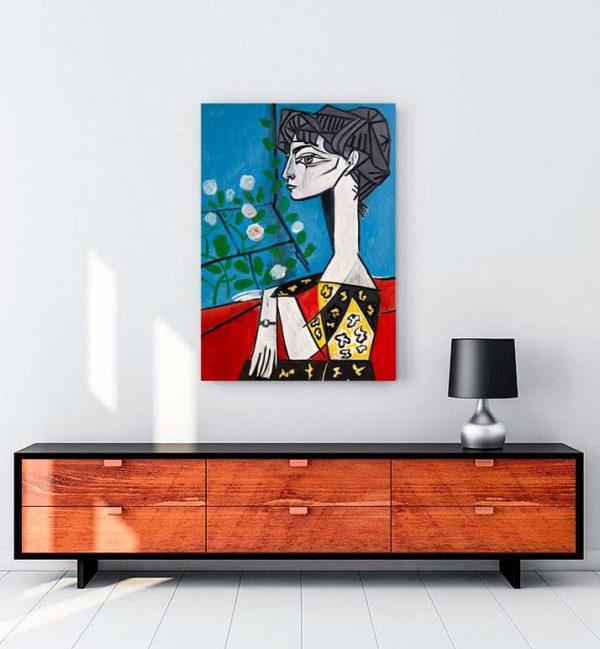 Jacqueline kanvas tablo