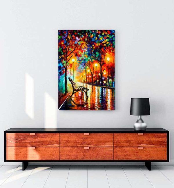 Loneliness Of Autumn kanvas tablo