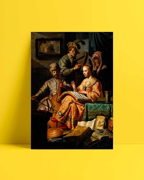 Musical Allegory afiş