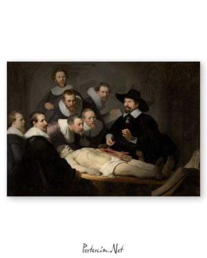 Nicolaes Tulps Anatomy Lesson poster