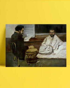 Paul Alexis Reads to Emile Zola afiş