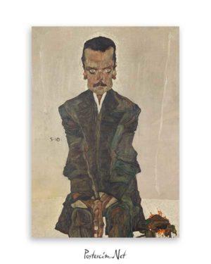 Portrait of Eduard Kosmack Poster
