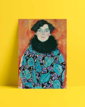 Portrait of Johanna Staude afiş