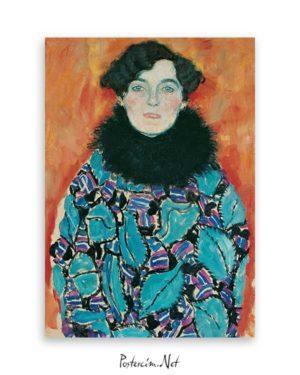 Portrait of Johanna Staude poster