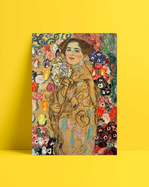 Portrait Of Maria Munk afiş