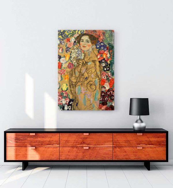 Portrait Of Maria Munk kanvas tablo