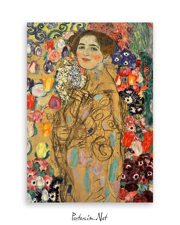 Portrait Of Maria Munk poster