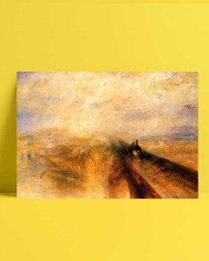 Rain Steam and Speed Great Western Railway afiş