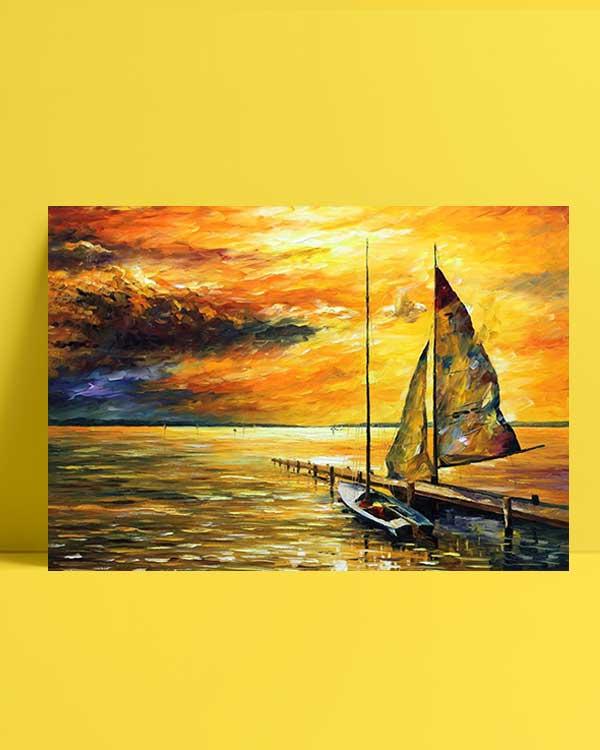 Sailing Away afiş
