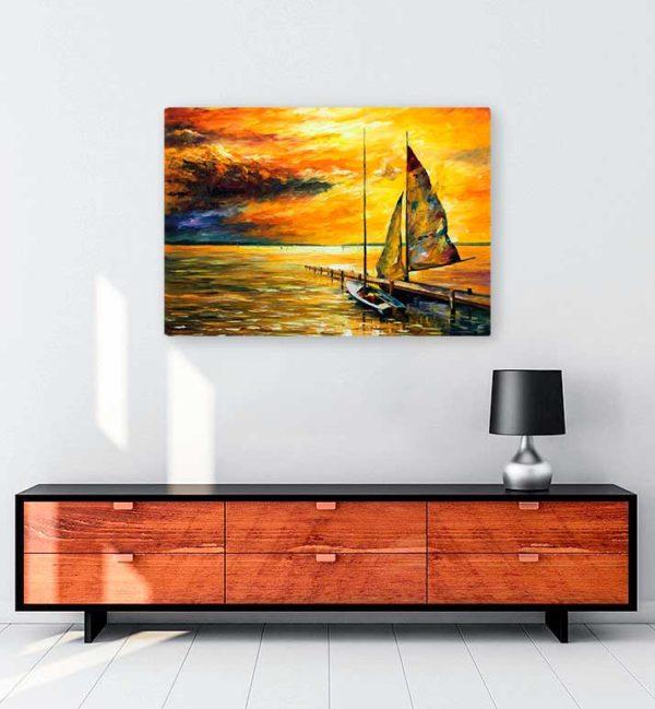 Sailing Away kanvas tablo