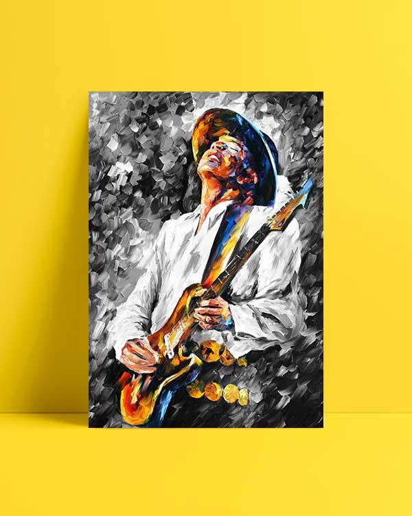 Stevie Ray Vaughan afiş