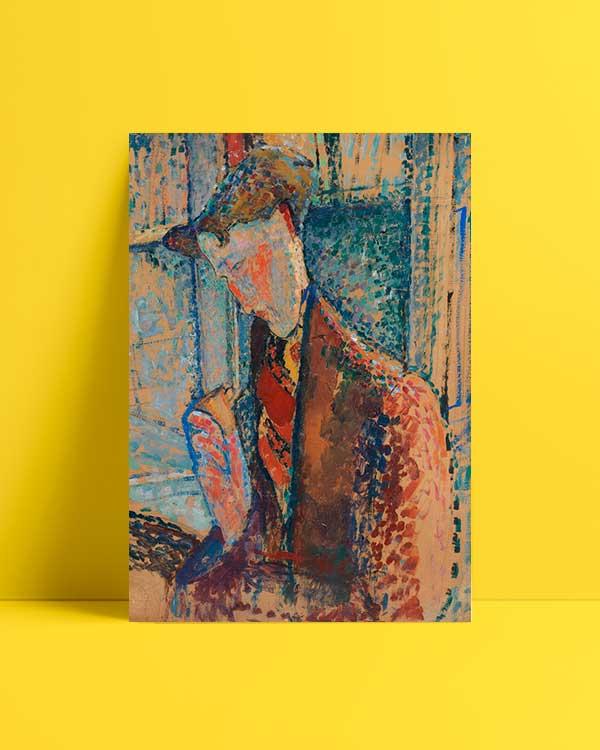 Study for Portrait of Frank Haviland afiş