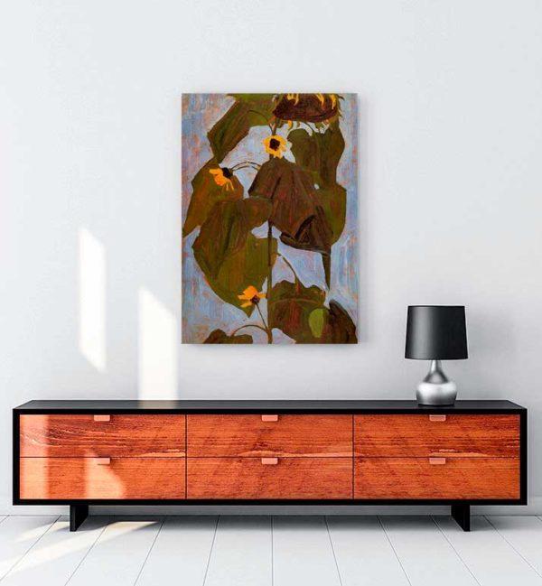 Sunflower kanvas tablo