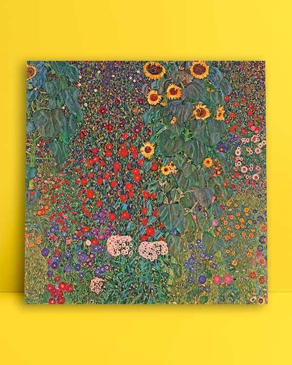 Sunflowers In The Garden afiş