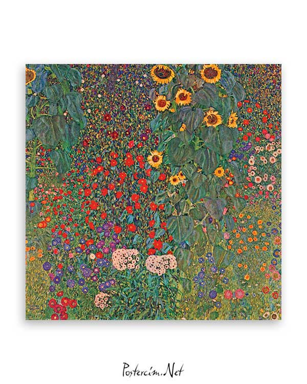 Sunflowers In The Garden poster