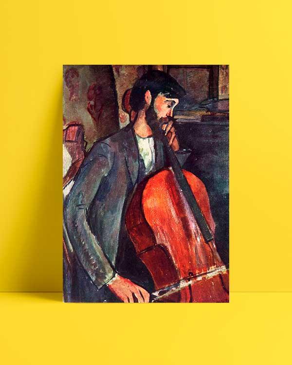 The Cellist afiş