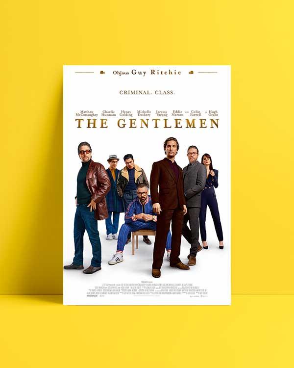 The Gentlemen 2019 afiş