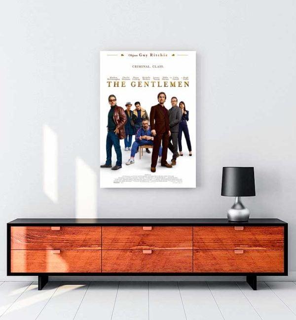 The Gentlemen 2019 kanvas tablo