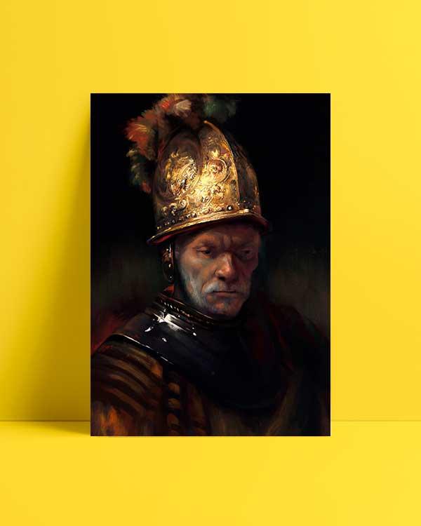 The Man With the Golden Helmet afiş