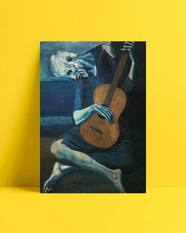 The Old Guitarist afiş