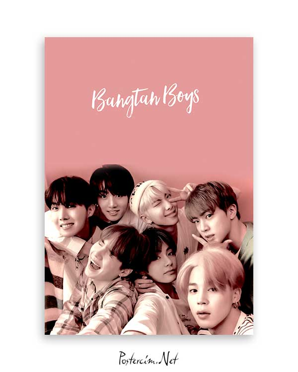 Bangtan Boys poster satın al