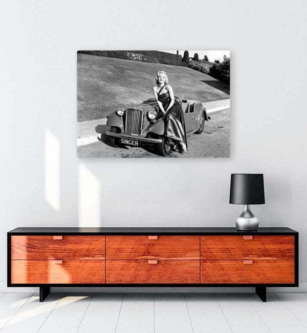 Araba-1 kanvas tablo