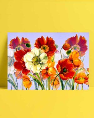 Çiçek Ahengi afiş