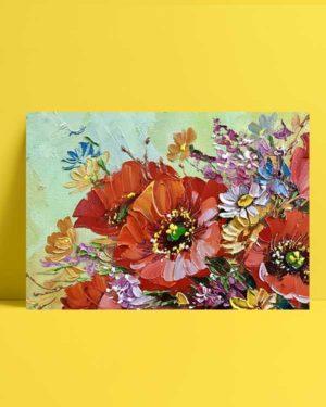 Flower Detail afiş
