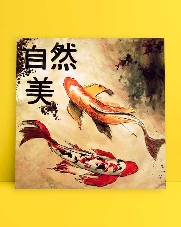 Japanese Fish afiş