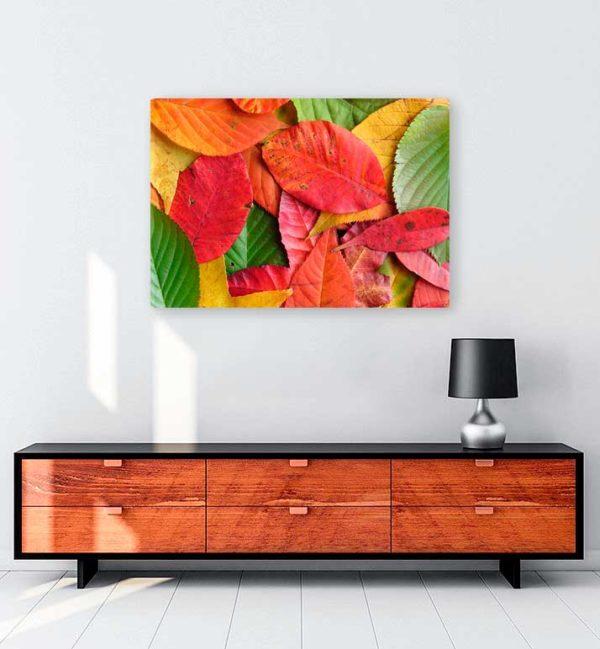 Sonbaharın Beş Tonu kanvas tablo