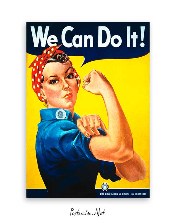 We Can Do It poster satın al