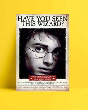Harry Potter Wizard Harry film afişi