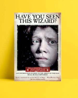 Harry Potter Wizard Ron film afişi