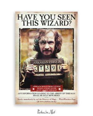 Harry Potter Wizard Sirius film posteri